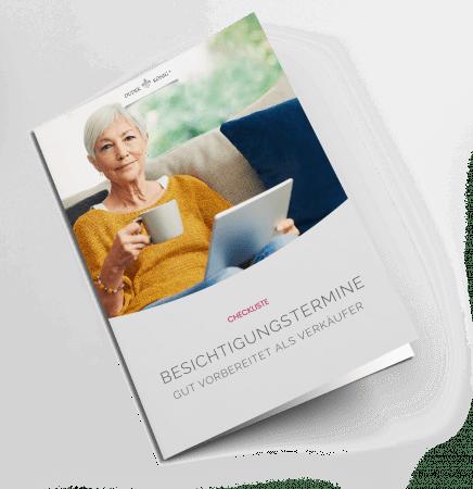 """Dudek & König Immobilien Checkliste """"Vorbereitung auf Besichtigungstermin für Verkäufer"""""""